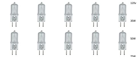 JCD Type G5.3 Bi Pin Base T3 T4 Capsule Halogen