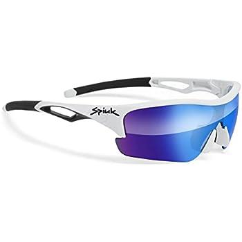 Spiuk Spicy - Gafas de Ciclismo Unisex, Color Blanco/Negro ...