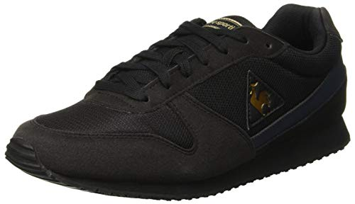 Le Coq Sportif Alpha II, Sneaker Uomo, Nero Black/Ebony, 43 EU