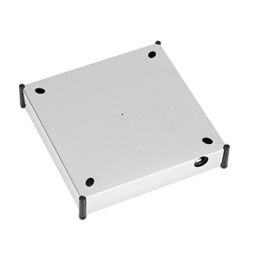 Focket Magnetschwebebahn, 360 ° drehbare Plattformhalter-Standanzeige für Geschäft, Supermarkt, Büro, Inneneinrichtungen (EU-Stecker)