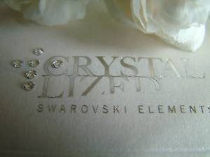 SS9 100 cristalli SWAROVSKI trasparenti 2028-Colla Fix, larghezza 2,6 mm - 2028 Ss9 Cristallo