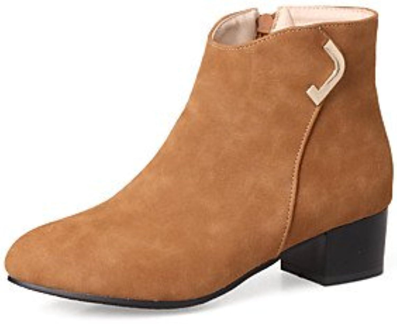 DESY Da Da Da donna Scarpe Finta pelle Autunno Inverno Stivali Stivaletti  alla caviglia Stivaletti Quadrato ebc2cf64018