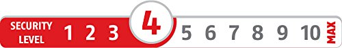 ABUS 13669 Chaîne de porte SK66 B SB