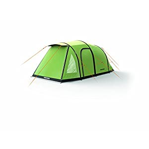 3 man inflatable green extreme air tent with qwik frame - inflates in 3 minutes