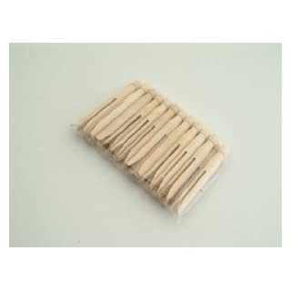 Wooden Dolly Pegs x 24