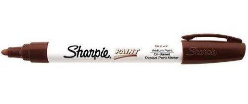 sharpie-marker-filzstift-auf-olbasis-feine-spitze-braun-1-stuck