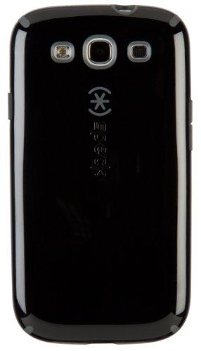 p-On Case Cover Schutzhülle für Samsung Galaxy S3 - Schwarz/Schiefergrau ()