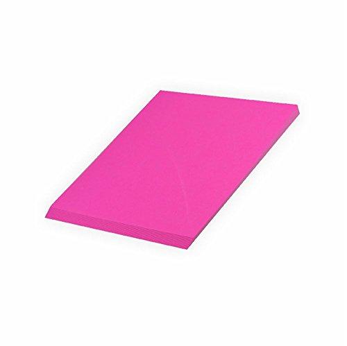Creleo Tonpapier 130 g, A4 20 Blatt, pink