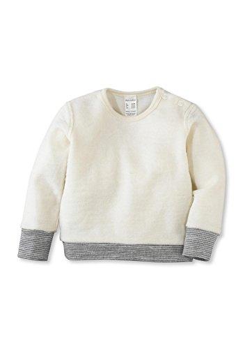 hessnatur Baby Mädchen und Jungen Unisex Wollfrottee Shirt aus Reiner Schurwolle