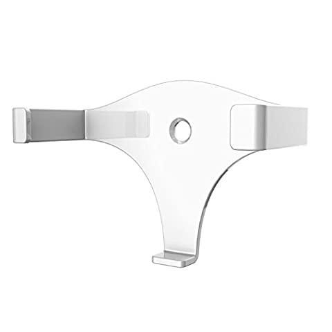 eBoot Solid Metal Wall Mount Stand Holder Stand Bracket for Amazon All-New Echo Dot 2nd Generation (White)
