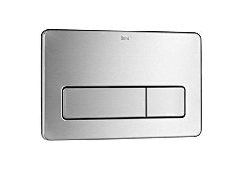 Roca A890097004 - Placa de accionamiento antivandálica de acero inoxidable con descarga...