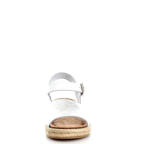 Igi&Co 7880000 Sandali Donna Bianco/Argento