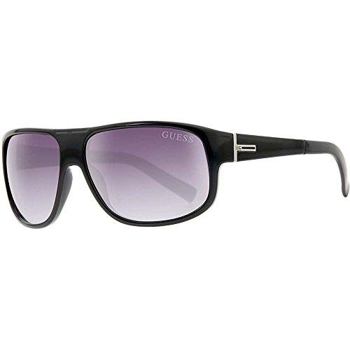 Guess Herren GU0130F-61C39 Sonnenbrille, Schwarz (Black/Grey Blue), 61