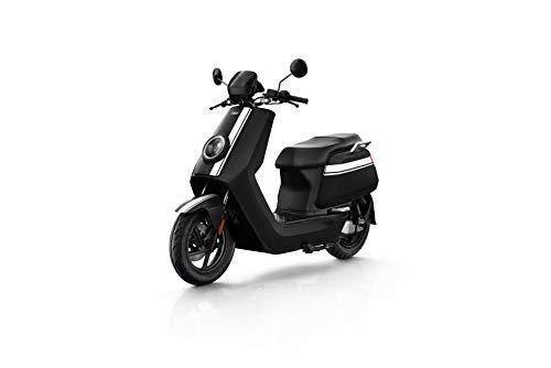 NIU N GT Scooter Elettrico - Panasonic Batteria agli ioni di Litio - Motore Bosch - Portata 100 km - 70 km/h (Nero/Bianco)
