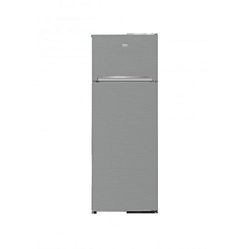 Beko RDSA240K20XP Autonome 223L A+ Acier inoxydable réfrigérateur-congélateur - Réfrigérateurs-congélateurs (223 L, SN-ST, 40 dB, 4 kg/24h, A+, Acier inoxydable)