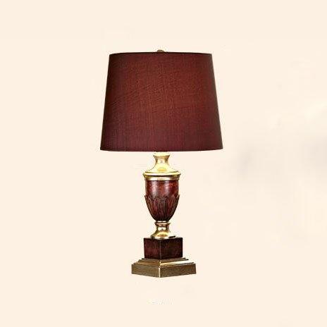 Mode Amerikanisches Land Schlafzimmer Nacht Harz Skulptur Komplex klassischen chinesischen Continental Wohnzimmer warm und kreative Tischlampe Spar Edel und elegant