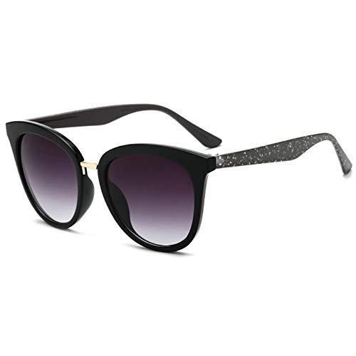 ZHAS High-End-Brille Modedesign Verlaufsglas Damen Sonnenbrille Retro Übergroße Damen Sonnenbrille Brillen Uv400 Personalisierte High-End-Sonnenbrille