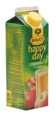 Happy D 100% Apfelsaft, 12er Pack (12 x 1 l)