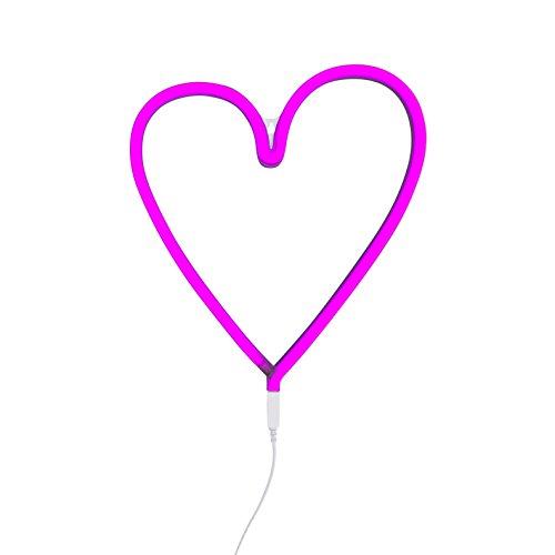 A Little Lovely Company pinkes Herz-Neonlicht