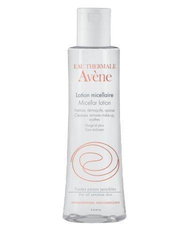 AVÈNE MICELLAR LOTION Removes impurities and make-up / Entfernt Unreinheiten und Make-up 200 ml Made in Frankreich