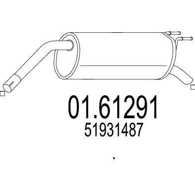 MTS 01.61291 composante