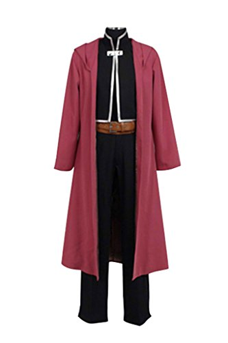 FUMAN FullMetal Alchemist Edward Elric Cosplay Kostüm (Fullmetal Alchemist Edward Kostüm)