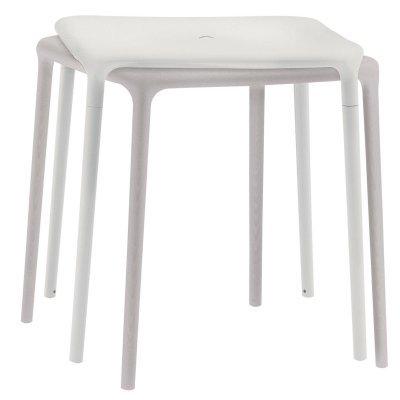 Magis air-Table Table carré 65 x 65 Blanc