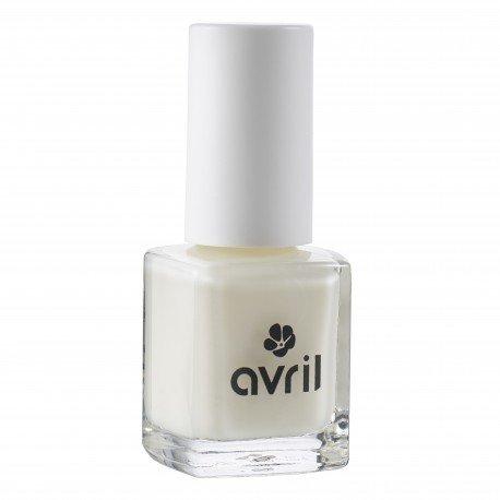 AVRIL - Vernis à Ongles Blanchissant 715 - Effet brillant, Facile à appliquer, longue duré - Non testé sur les animaux - 7 ml