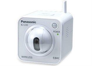'Panasonic bl-c230ce–-Kameras (640x 480Pixel, CMOS, 25,4/4mm (1/4), IEEE 802.11b/g, TCP, UDP, IP, HTTP, FTP, SMTP, DHCP, DNS, Arp, ICMP, POP3, NTP, upnptm, Auto IP, SMTP Authentication, USB 2.0)