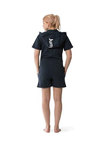 Jumpster Herren und Damen Jumpsuit Kurzer Overall Short Regular Fit Blau S - 4