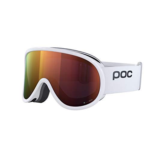POC Retina Clarity, Unisex Adulto, Hydrogen White/Spektris