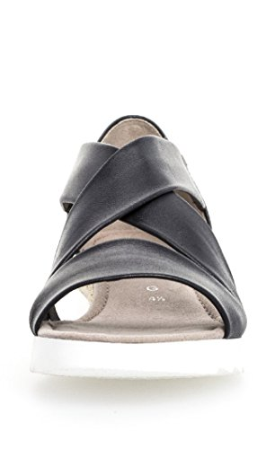 Sportive Scarpe Cinghia juta Comfort Sandali Oceano Caviglia Donna Gabor 5dx8XwZS
