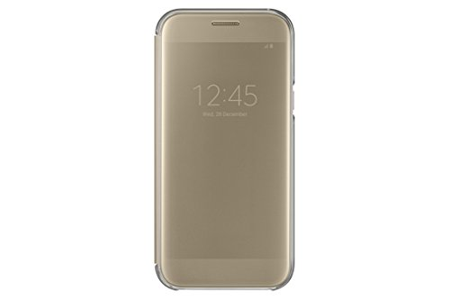 Samsung Clear View Cover für Galaxy A5 (2017) gold