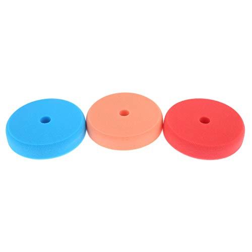 Mtsooning Juego de 3 Discos de Pulido de 15 cm