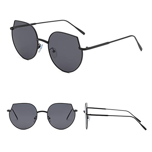 CixNy Damen Herren Polarisierte Sonnenbrille, Unisex katzenauge Rahmen Hochwertige Brille 100% UV-Schutz, UV400 Objektiv Mode Gespiegelte Eyewear