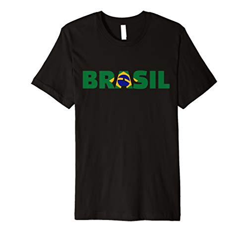 Brasilien Flagge T-Shirt