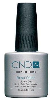 CND Brisa Paint - Gel Liquide - Soft White Opaque - 12ml (.43oz)