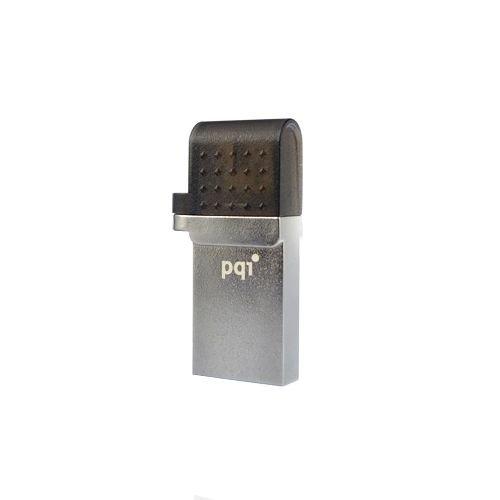 PQI 8GB, Connect 2018GB USB 2.0Silber USB Flash Drive-USB-Stick (Connect 201, USB 2.0, USB 2.0, Typ A, 0-65°C,-20-75°C, Gap) -