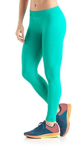 Lupo Women's Butt Booster Yoga Pants, X-Large Bali (Grün Bali Womens)