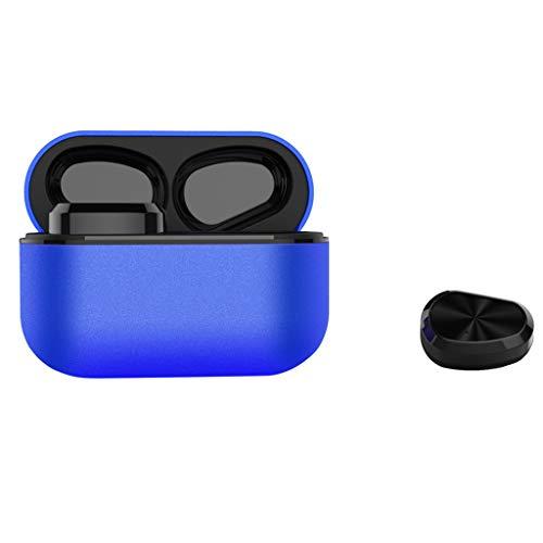 Vimoli Écouteur sans Fil Oreillette Bluetooth 5.0 Sportives Casque Stéréo Etanche IP67 avec Micro Boîte de Charge Facile à Utiliser pour iOS, Samsung, Huawei, Sony, Tablette etc (Bleu)