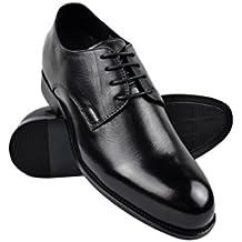 Zerimar Zapatos con Alzas Hombre  Zapatos de Hombre con Alzas Que Aumentan su Altura +