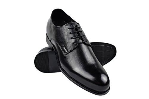 ZERIMAR Zapatos con Alzas Interiores para Hombres Aumento 7 cm | Zapatos de Hombre con Alzas Que Aumentan Su Altura | Zapatos Hombre Casuales | Talla 41