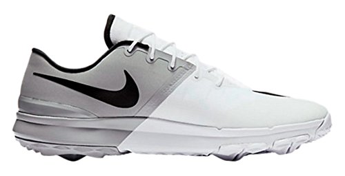 Nike Fi Flex, Chaussures sport homme Blanc (White/black/anthracite/wolf Grey)