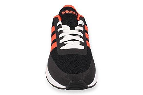 adidas V Racer TM II Herren Lauftrainer / Schuhe Schwarz