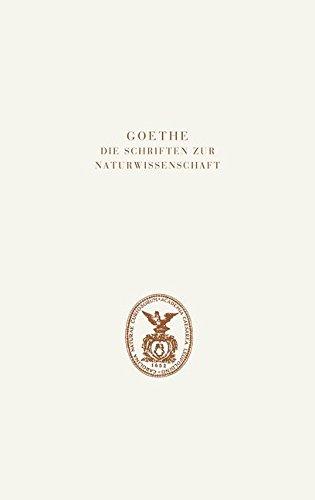Goethe. Die Schriften zur Naturwissenschaft (Leopoldina): Dritte Abteilung: Verzeichnisse und Register. Band 2: Register