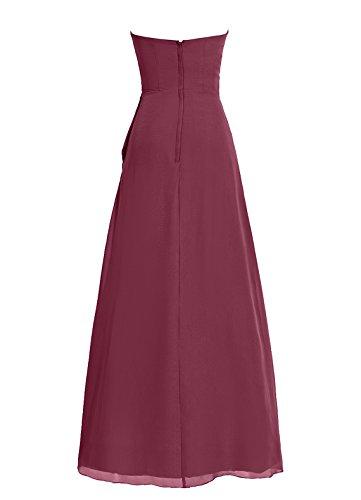 Dresstells, robe de soirée, robe longue de cérémonie, robe de demoiselle d'honneur Corail