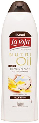 La Toja - Nutri Oil - Gel crema de ducha con sales minerales - 650 ml