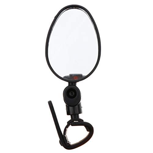 Petite Taille V/élo R/étroviseurs Grand Angle Convex R/étroviseur arri/ère /à v/élo Cycle Rearview Mirror 1pc