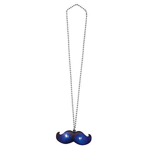 Unique Party 54974 LED-Halskette Schnurrbart