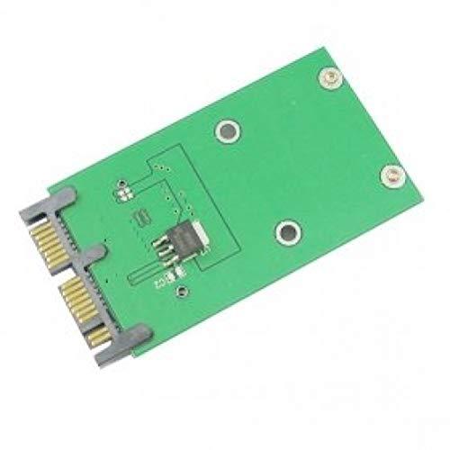 cy Adapter auf Platine, Mini-PCI-E mSATA SSD auf 1,8 Zoll (4,6 cm)Micro SATA 7+ 9 = 16 Pin, PCBA, für SSD Festplatte -